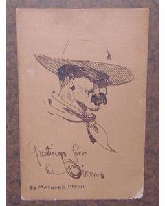 Maynard Dixon (1875-1946) - SOLD - California Cowboy