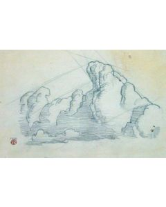 Maynard Dixon (1875-1946) - SOLD - Cloud Study #1