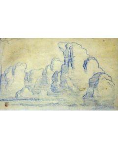 Maynard Dixon (1875-1946) - SOLD - Cloud Study #2