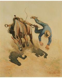 Maynard Dixon (1875-1946) - SOLD - An Embarrassing Situation