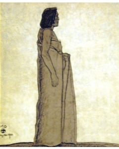 Maynard Dixon (1875-1946) - SOLD - Double-Side Walpi