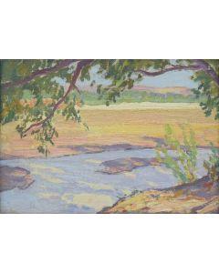 Maynard Dixon (1875-1946) - Rice Arizona, 1915