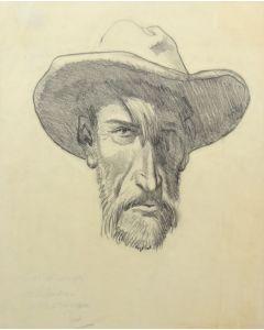 Maynard Dixon (1875-1946) - Self Portrait