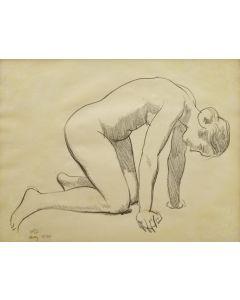 Maynard Dixon (1875-1946) - Nude