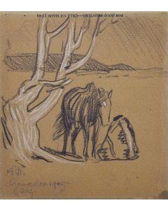Maynard Dixon (1875-1946) - Ganado 1905, Arizona