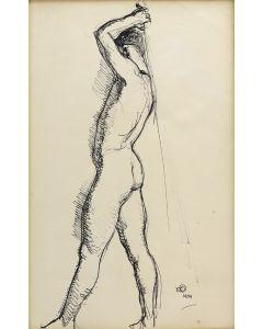 Maynard Dixon (1875-1946) - The Fencer (PDX91660-0620-002)