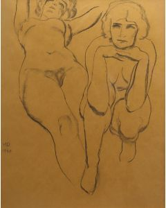 Maynard Dixon (1875-1946) - Double Nude (PDX91660-0620-004)