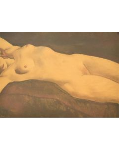 Maynard Dixon (1875-1946) - Nude, March 1928