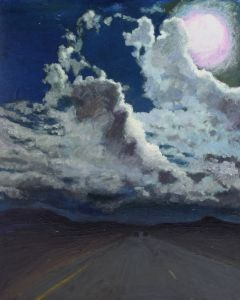 SOLD Moira Marti Geoffrion - Pink Moon