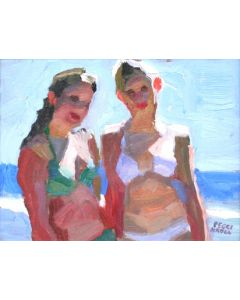 SOLD Peggi Kroll-Roberts - Teen Sisters