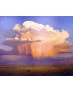 SOLD Jeff Aeling - Cumulus Cloud with Virga, NM