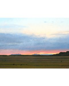 Jeff Aeling - Sunset North of Comanche Gap, NM