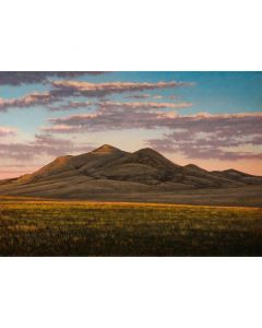 Jeff Aeling - Sunset Near Des Moines, NM