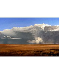 SOLD Jeff Aeling - Retreating Thunderstorm, White Bluffs, NM
