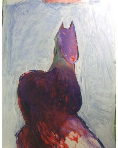 SOLD Fritz Scholder (1937-2005) - Dream Horse B