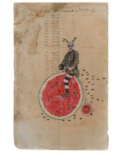 Julia Arriola - Watermelon Riding Koshari (PLV90194-0720-011)
