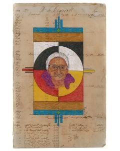 Julia Arriola - Evangeline and Elders Circle of Life Blanket (PLV90194-0720-014)
