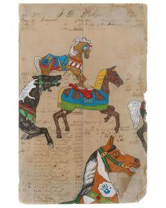 Julia Arriola - Rogue Carousel Horses (PLV90194-0720-016)