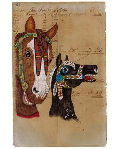 Julia Arriola - Powwow Carousel Horses (PLV90194-0920-002)