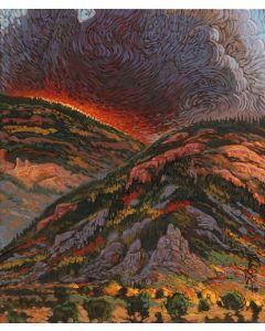 Shonto Begay - Cresting Inferno (PLV90210A-0421-002)