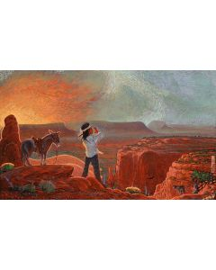 Shonto Begay - The Gaagi'' Call (PLV90210A-0421-006)