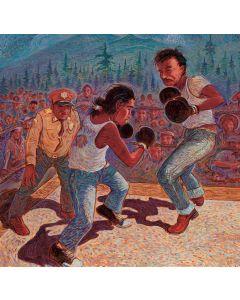 Shonto Begay - Camp Navajo Pugilists, circa 1940
