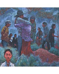 Shonto Begay - The Funeral Hug (PLV90210A-0816-003)