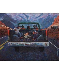Shonto Begay - Navajo Blue Highway