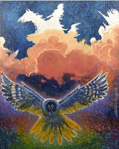 Shonto Begay - Wisdom and Hope (Owl)