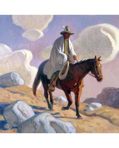 Eric Bowman - Desert Light and Dark Horse (PLV90280B-0121-003)