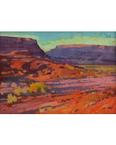 Jill Carver – Lengthening Shadows, Moab (PLV90335B-0221-010)