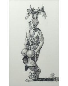 Frederick Hambly - Yaqui Deer Dancer (PLV90346B-1219-002)