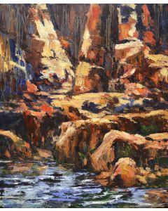 James Cook - Oak Creek Study - Red & Blue (PLV90347B-0621-002)