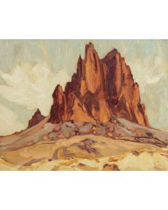 SOLD Dominik Modlinski - In the Presence of Shiprock