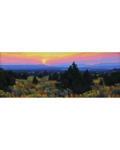 SOLD Stephen C. Datz - Nightfall in Navajoland