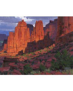 x SOLD Stephen C. Datz - City of Stone (PLV90469-0520-004)