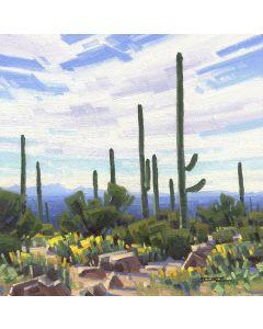 x SOLD Stephen C. Datz - Hiking Weather (PLV90469-0520-013)