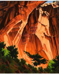 x SOLD Stephen C. Datz- Canyon Rhythms