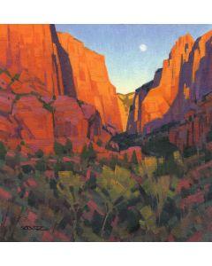 Stephen C. Datz - Kolob Moonrise (PLV90469-1220-003)