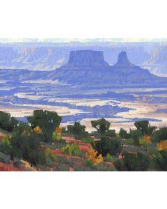 Stephen C. Datz - White Rim Vista (PLV90469-1220-005)