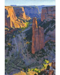 Stephen C. Datz - Morning Light at Spider Rock (PLV90469-1220-006)