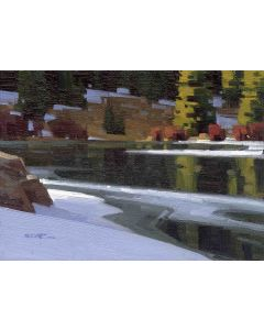 Stephen C. Datz - Lingering Snow (PLV90469-1220-007)