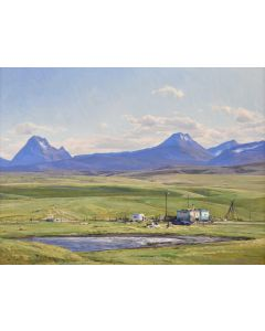 Josh Elliott - Home of the Blackfeet, After Maynard Dixon