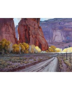 Josh Elliott - Light Slivers, Canyon de Chelly (PLV90524-1020-001)