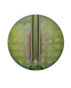 Harold Laurence Gregor (b. 1929) - Roundscape #2 (PLV90623A-0321-001)