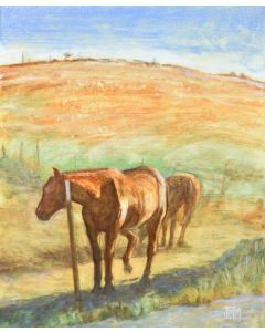 Josh Gibson - Horses on Mt Diablo