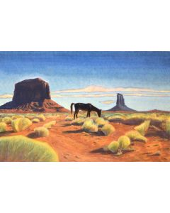 osh Gibson - Lunch in Monument Valley