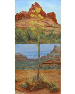 Josh Gibson - Two Views from Bell Rock