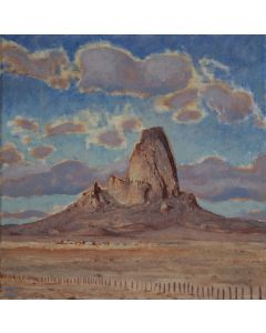 Josh Gibson - Mountain and Quilted Sky