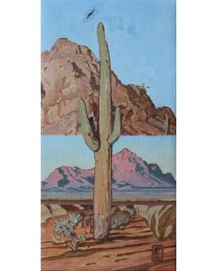 Josh Gibson – Two Views of Ironwood (PLV90744A-0721-002)